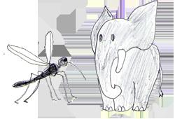 Aus Mücke Elefanten Machen
