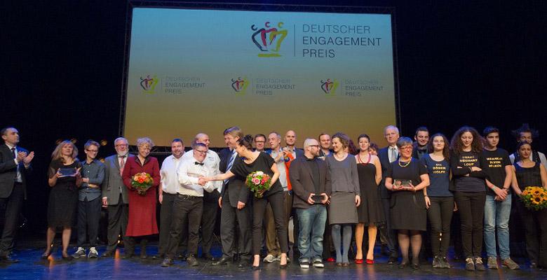 Preisverleihung des deutschen Engagementpreis 2015
