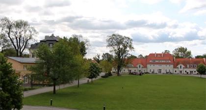 Schloss und Gutshof in Kreisau
