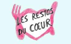 Les Restos du cœur, logo dessiné