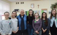 Photo de groupe avec l'entrepreneur polonais Ryszard Konstanty