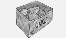 CARE package during the Berlin Airlift