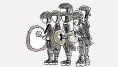 L'orchestre de musique militaire