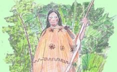 Indianerin aus Amazonien