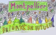 Les marches pour le climat à Montpellier