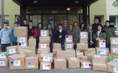 Pakete für bedürftige Familien