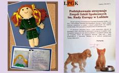 Puppen nähen und Tierfutter sammeln