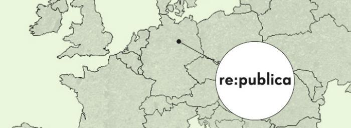 Konferencja re:publica odbywa się w co roku w Berlinie