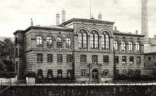 Le bâtiment du Lycée Français de Berlin de 1873 à 1945