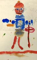 dessin enfant 1915