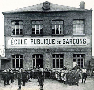 Francsuka szkoła w 1914 roku