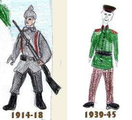2 génération pendant la guerre