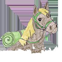 Konie w okopach