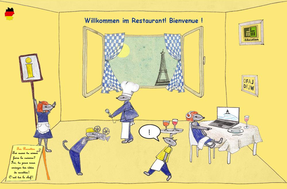 frankreich f r kinder restaurant infos ber essen und trinken kinderreporter b ser wolf. Black Bedroom Furniture Sets. Home Design Ideas