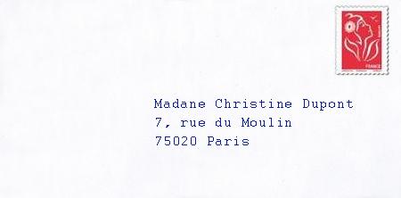 brief anrede französisch